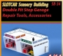 1X Double Pit Stop Garages, Repair Tools, Access. (SB34)