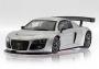 Audi R8 Test Car Silver (1087AW) DEF